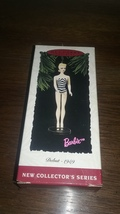 Hallmark Barbie debut 1959 collectible ornament  - $15.00