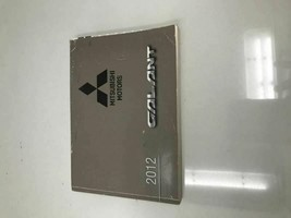 2012 Mitsubishi Galant Owners Manual Case Handbook OEM Z0Z09 - $28.79