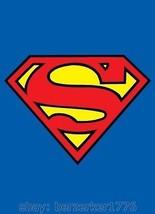 Supergirl Superman 3'x5' Blue vertical Flag Banner DC Comics USA seller Shipper - $25.00