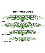 Arctic Cat Sno PRO, ZR, XF, Thundercat, Wildcat - Trailer flame graphic ... - $79.95