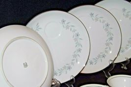 """G"" Plates Japan Fine China Dishes and teacups with Napkins AA20-2344 Vintage image 7"