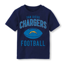 NFL San Diego Chargers Football Boy or Girl T-Shirt  Toddler   Size-3T - $11.04