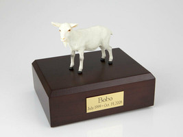 Goat White Figurine Wildlife Cremation Urn Available in 3 Diff. Colors &... - $169.99+
