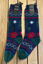 Lot of 2 Stance holiday knit stockings new with tags A5 - $29.69