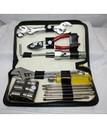 Automotive Tool Kit ~ 16 pieces ~ with zippered case ~ Common Tools for ... - $17.08