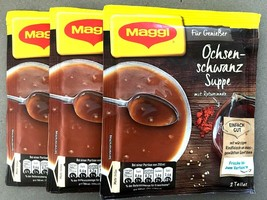 Maggi OXTAIL Soup PACK of 3 (6 servings)Made in Germany-FREE SHIPPING - $15.83