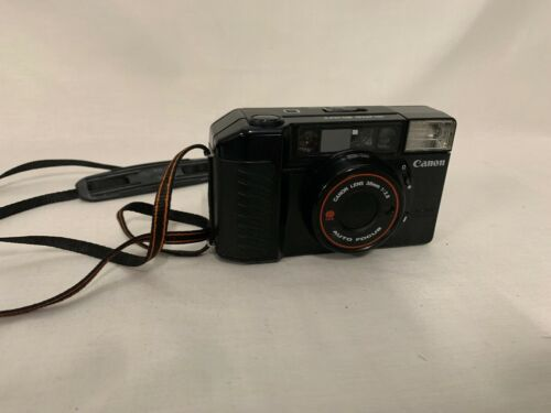Canon Sure Shot 35M Film Camera Auto Focus Point Shoot 38mm 1:2.8 Lens Untested