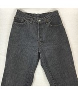 Levis 501 Womens Jeans Mom High Waist Button Fly Vintage USA Actual Size... - $142.59