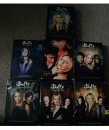 Buffy the Vampire Slayer DVD Seasons 1-7 + Angel DVD Seasons 1-,3,5 Minu... - $89.99