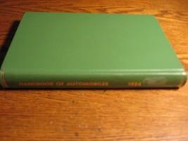 1924 Handbook of Automobiles Hand Book Auburn Buick Cadillac Packard Har... - $77.22
