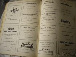 1954 Union Endicott High School Yearbook - Thesaurus image 9