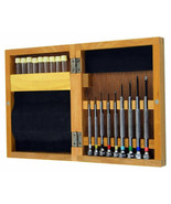 set of 9 screwdrivers set in Watchmakers Pro watch Screwdrivers Set in W... - $26.95