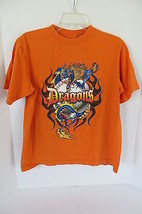 Boys Urban Up Orange Dragons T-Shirt Size L - $6.79