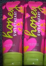 Bath and Body Works Honey Sweetheart Triple Moisture Body Cream 8 fl.oz. (2) - $50.98