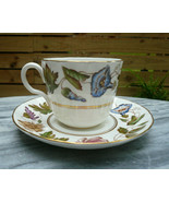 Vintage Royal Worcester VIRGINIA Fine China Cup & Saucer Z2307 Discontinued - $9.00