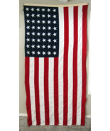 48 Star Cotton American Flag of The United States of America  5' x 9 1/2' - $88.11