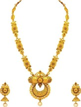 New LCT Bollywood Indian Women's Gold Plated Ethnic Wedding Jewelry Neck... - $28.47