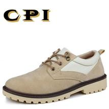 Br shoes CPI Work Men's casual 2018 Comfortable New shoes wear resisting leather wxZawX