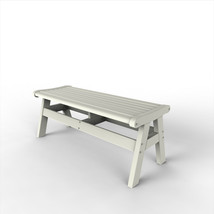 Malibu Outdoor Living Recycled Plastic Newport 48IN. Bench - $459.90+