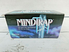 Mindtrap Vintage Card Game 1996 Pressman Mind Challenge Thinking Logic P... - $15.15