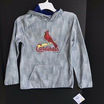 St. Louis Cardinals Hooded Sweatshirt Youth Size L (12/14) NEW With Tags -a - $34.99