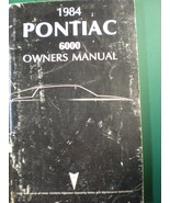1984 PONTIAC 6000 OWNERS OPERATORS MANUAL - £17.96 GBP