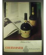 1965 Courvoisier Brandy Ad - Editions de luxe - $14.99