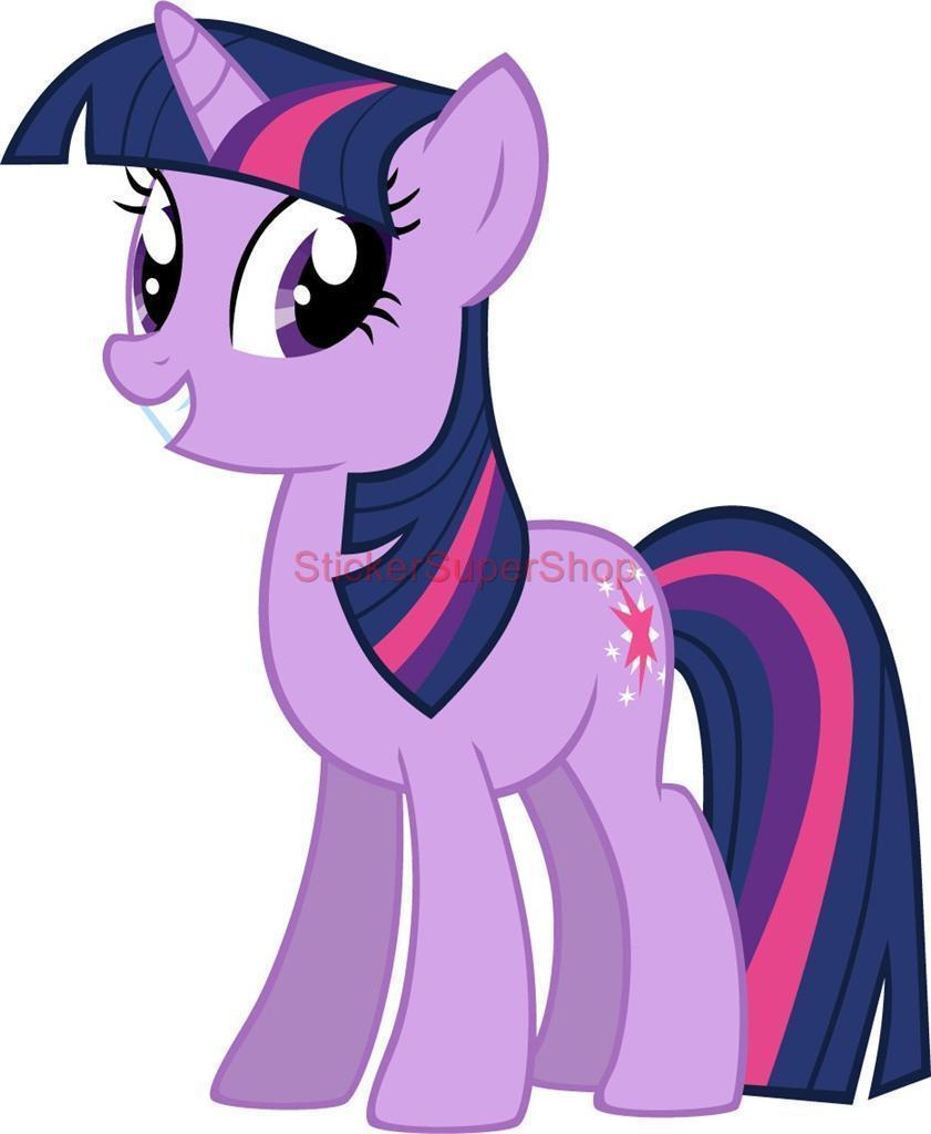TWILIGHT SPARKLE My Little Pony Decal Removable WALL STICKER Home Decor Art Kids for sale  USA