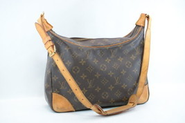 LOUIS VUITTON Monogram Boulogne 30 Shoulder Bag M52165 LV Auth 7023 JUNK - $140.00