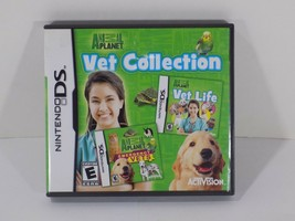 Nintendo DS 2010 Animal Planet Vet Collection Case & Manual inserts Only... - $0.98