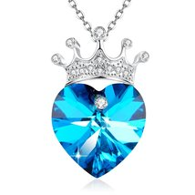 """[Valentines Day Gift] Angelady""""You Are My Queen""""Crown Purple Love Heart ... - $59.95"""