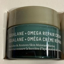 Biossance 15mL Squalane + Omega Repair Cream Restores Skin Moisture Barrier