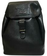 Versace Backpack Black Leather Shoulder Bag - $728.50