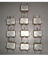 QTY10 Corcom Inc F1556 T303 7A 257V 50-440Hz Feed Thur Filter - $20.00