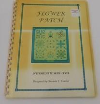 Brenda Kocher Needlepoint Pattern, Flower Patch 1997, 55 pages - $14.49