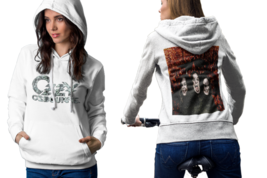 ozzy osbourne  White Cotton Pullover Hoodie For Women - $23.75+