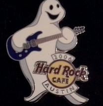Hard Rock Cafe Austin 2006 Ghost Band Series Pin #2 Guitar Halloween - $14.84