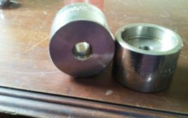 CMC Italy B16 2x4 3M Flange End Cap A182F316/F316 L 260M Stainless Steel 2pc image 4