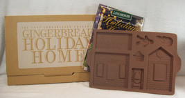 Longaberger Pottery 1997 Gingerbread Holiday Home Mold #34720 - $17.99