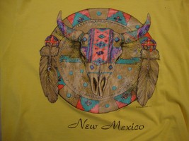Vintage New Mexico Native American Indian Tribal Art Tourist 1992 T Shirt L - $19.79
