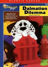 Dalmation Dilemma in Plastic Canvas by Debbie Tabor Needlecraft Shop #400329 - $6.95