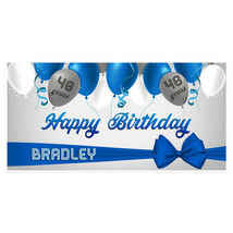 40th Birthday Banner Balloons Party Backdrop Decoration-Any Age - $22.28+