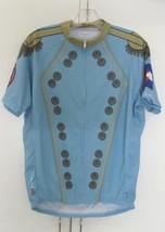 Primal Bailey Hundo 2011 Colorado Flag Epaulettes Blue Large Cycling Jersey - $19.99