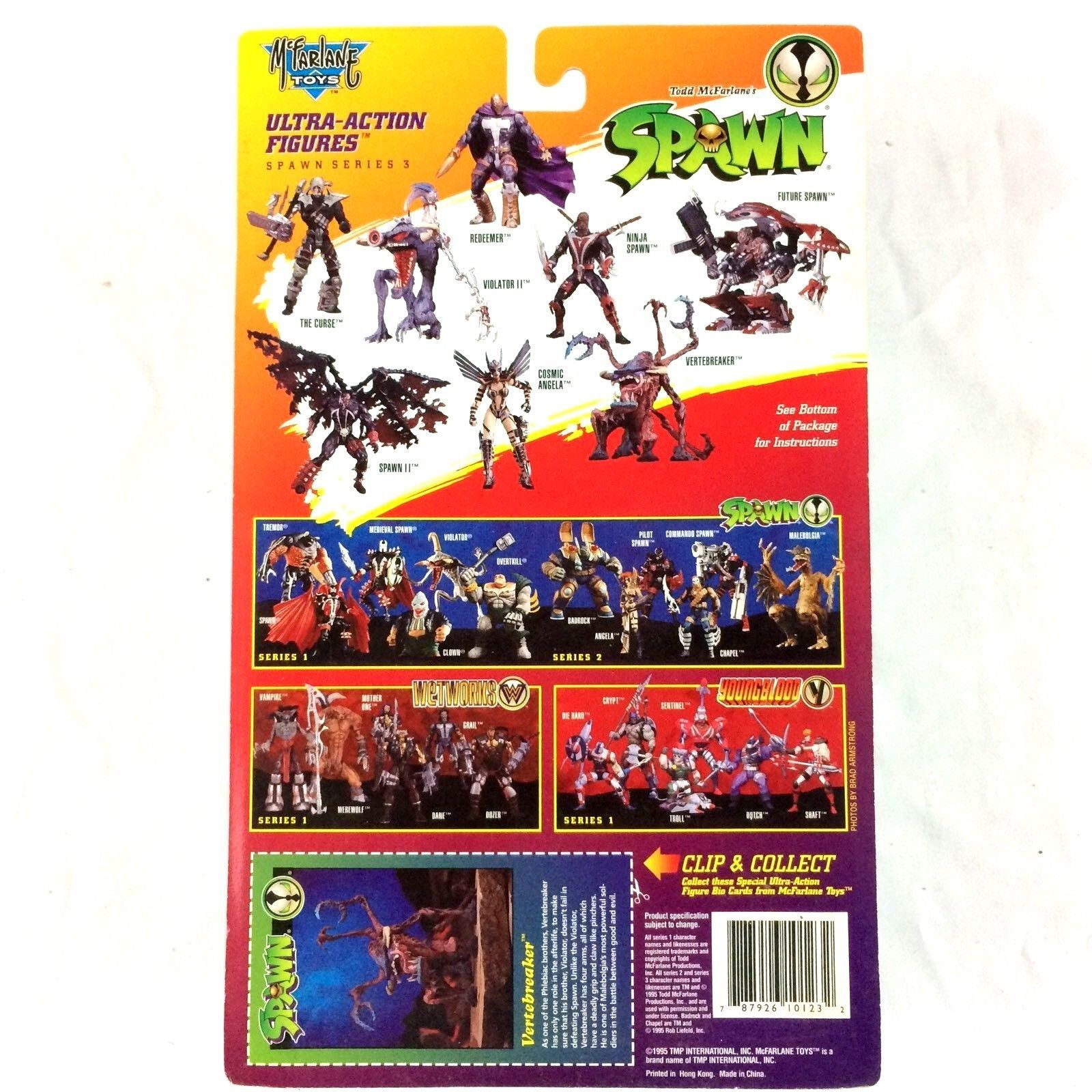 Spawn Series 3 Vertebreaker McFarlane Toys Action Figure Sealed 1995