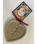 Brown Bag Cookie And Craft Art Mold Heart Cupid 1992 Recipe Special Proj... - $24.70