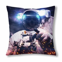 """InterestPrint? Dead Astronaut in Outer Space Throw Pillow Cover 18""""x 18""""... - $13.99"""