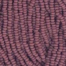 11/0 Seed Bead Rocaille Full Hank Brown 1 - $7.99