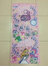 Disney Alice in Wonderland Hand Towel soft touch. Curiouser Theme. Very RARE NEW - $19.99