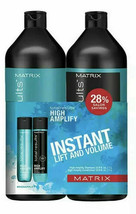 Matrix Total Results High Amplify Shampoo & Conditioner 33.8oz LITER DUO - $36.45
