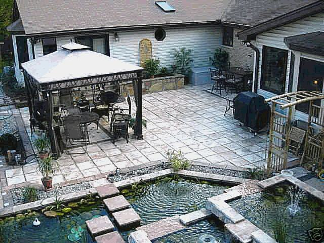 Make Castle Stone Pavers Concrete For Pennies a Foot with 29 Molds, Supplies Kit